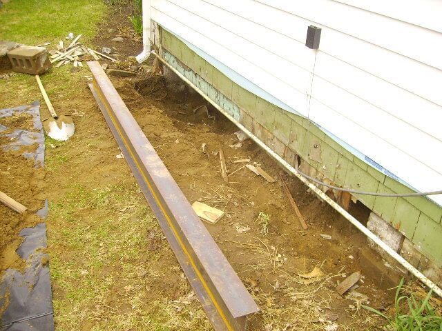 Structural Foundation Repair Jacking Bracing Rochester