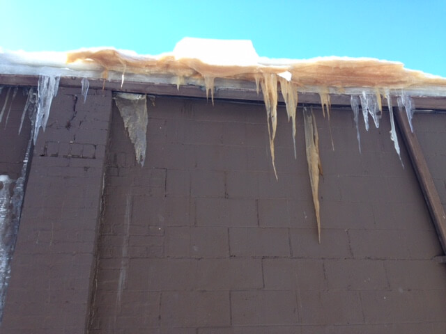 roof snow ice removal in rochester ny surrounding areas