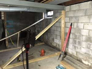 structural jacking and bracing