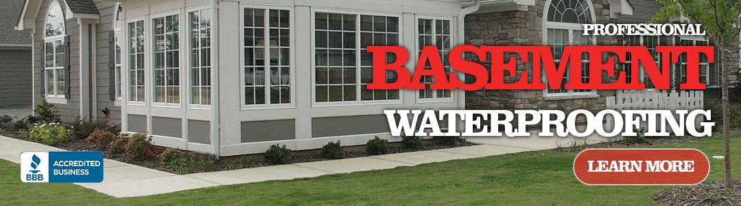Professional Basement Waterproofing Roofing Contractor